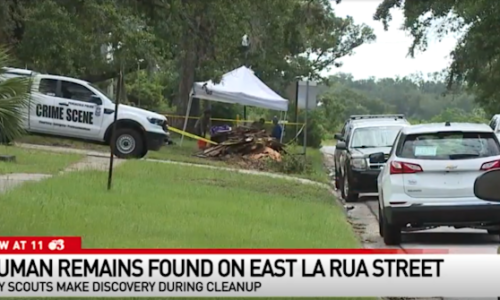 Florida boy scouts discover human remains during cleanup of city building's crawlspace